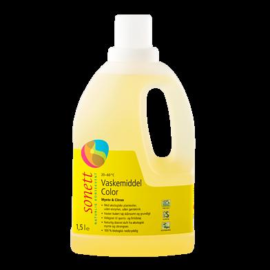 Vaskemiddel color, mynte & citron