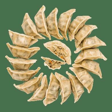 Veganske dumplings
