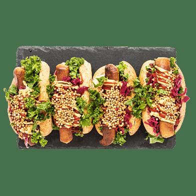 Veganska hotdogs