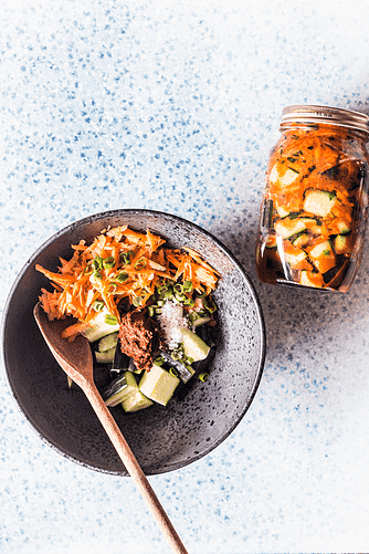 Agurke-kimchi