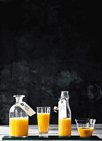 Appelsin og mynte