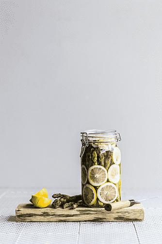 Asparges med citron