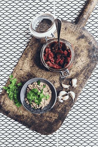 Baba ganoush med fermenteret aubergine