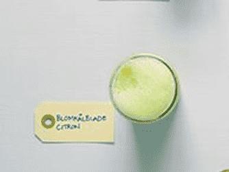 Blomkålblade citron - shot
