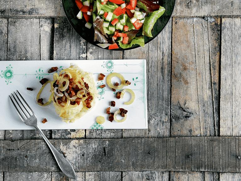 Brændende kærlighed med pastinakker og salat