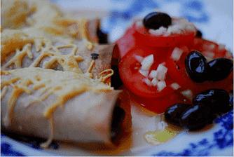 Cannelloni med spinat og svampe