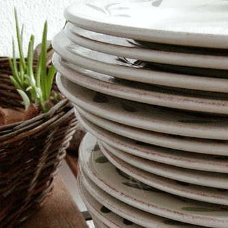 Gråand med selleri og svampe