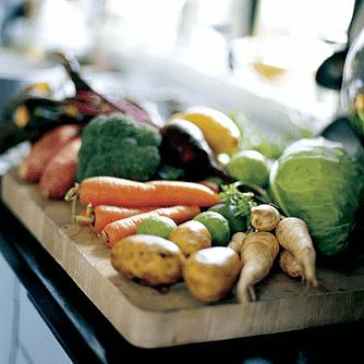 Grillede gulerødder med citron/parmesan