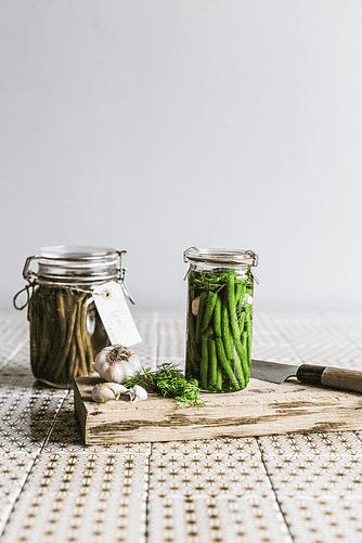 Grønne bønner med dild