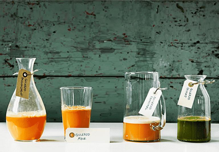 Gulerod og spinat