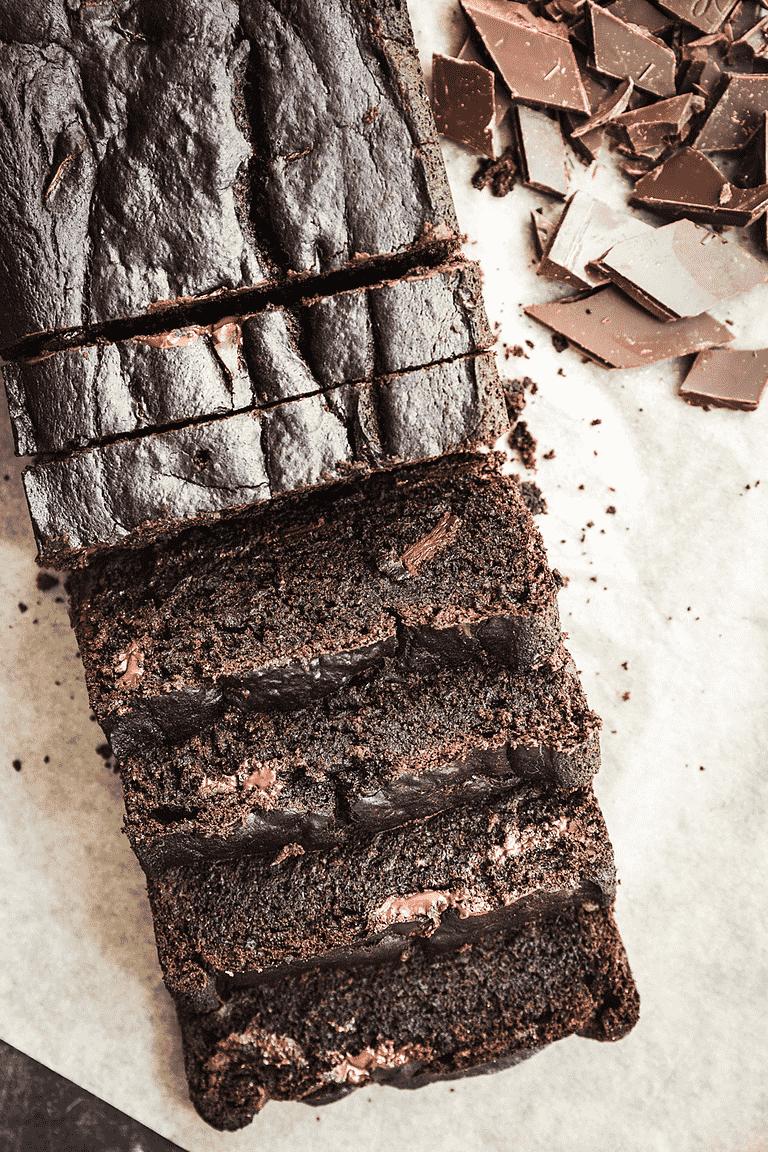 Intens Chokolade Banankage Opskrift Fra Aarstiderne
