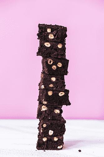 Kæmpe chokolade brownie