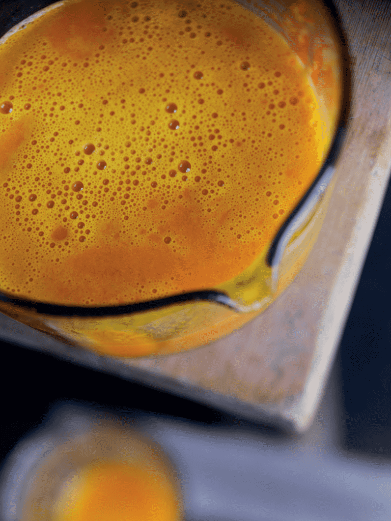 Pære-græskar-appelsinjuice