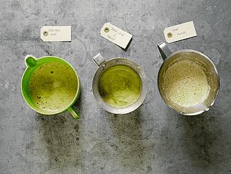 Selleri, spinat og peberrod
