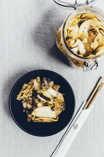 Sokbakji - Kimchi med kinakål og kinaradiser