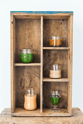 Spinat, knoldselleri og koriander