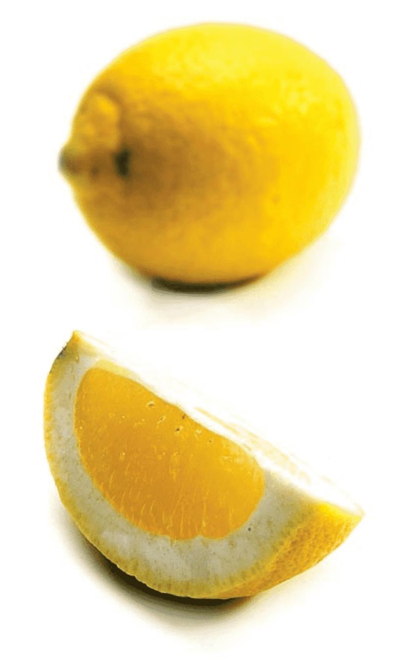 Syltede citroner (søde)
