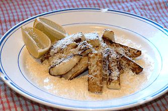 Kålrabbi med parmesan