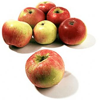 Karamelliserade äpplen