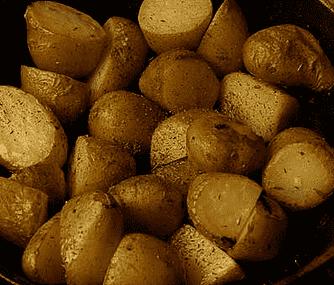 Kryddade bakpotatisar