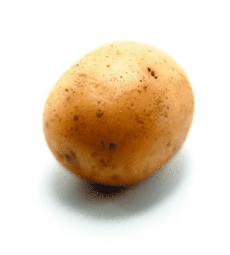 Potatissallad med senapscreme och rädisor