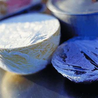 Vaniljris med rabarber